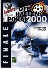 15./16.01.2000 DFB-Hallen-Pokal Finale München mit Bayern, TeBe Berlin, 1860,...
