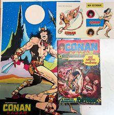 CONAN e KA-ZAR n. 1  CORNO con poster ed adesivi