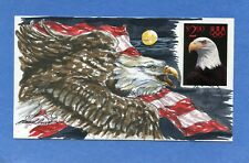 Nouvelle annonce Sc # 2540 Priority Mail Wild Horse Hand Drawn & Painted Cachet First Day Cover