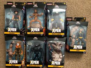 Marvel Legends Age Of Apocalypse Wave 1 New Sealed Dark Beast X-Man Jean Grey