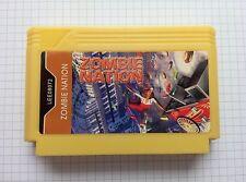 Zombie Nation (type 2) - ULTRA RARE Famicom Famiclone Nes Cartridge