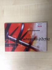 AUDI SERVICE BOOK A3 A4 A6 TT S3 S4 S6 TDI TFSI PETROL DIESEL VW VAUXHALL SEAT