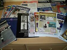 52 Auction catalogues sport/history 4 information & valuations reduced £25
