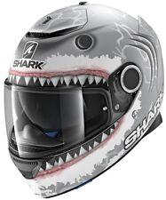 Shark Casco Moto Hark Spartan Lorenzo Wht Mat Grigio/bianco S (k1y)