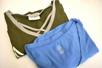 Bobbie Brooks Women's Large Short Sleeve V-Neck Shirts - Lot of 2