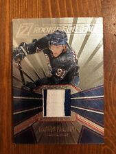 2010 ZENITH ROOKIE ROLL CALL PATCHES MAGNUS PAAJARVI #10 /50