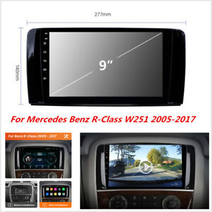"""For Mercedes Benz R-Class W251 2005-2017 Android Car Stereo Radio GPS Player 9"""""""