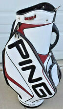 NEW PING Men's Staff Tour Golf Bag w/Carry Strap and Rain Hood
