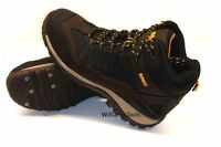 DeWalt Arlington Safety Work Boot Shoes Brown Black Steel Toe Cap Shoe
