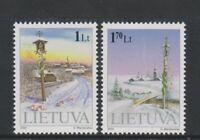 Lithuania - 2000, Christmas set - M/M - SG 745/6