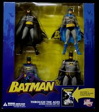 DC Comics Batman Through the Ages Boxed Action Figure Gift Set + Comic 2007 .
