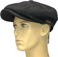 Peaky Blinders Hat Newsboy Gatsby Cap Grey Flat Baker Boy Bakerboy 50% Wool