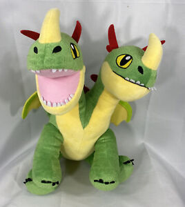 Build A Bear BARF & BELCH,2 HEADED DRAGON - How To Train Your Dragon