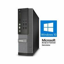 Custom Build Dell i5   16GB   2TB   SSD Windows 10 Pro Desktop Computer PC WiFi