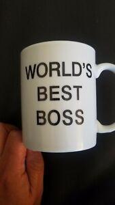 Dunder Mifflin  Worlds Best Boss Mug