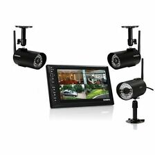 """Uniden UDS655 Wireless Surveillance System with 7"""" MONITOR, 3 CAMERAS Included"""