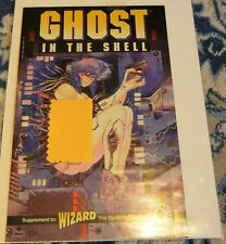GHOST IN THE SHELL SUPPLEMENT TO WIZARD THE GUIDE TO COMICS DARK HORSE COMICS