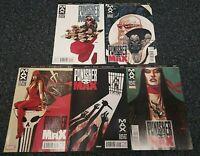 2011 Punisher Max Comic Lot #10,15,16,18,20
