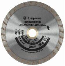 "Husqvarna 10"" Continuous Rim Wet Dry Saw Blade - New"
