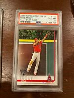 2019 Topps Complete Set 100 Mike Trout All-Star Game [PSA 10]