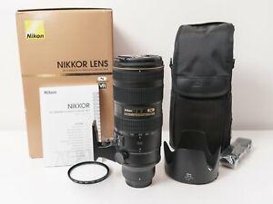 Nikon AF-S 70-200mm F2.8 G ED VR II Full-frame NIKKOR Lens ~Excellent Condition
