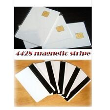 50 pcs Smart IC card with SLE 4428 chip + magnetic stripe HiCo  Contact IC card