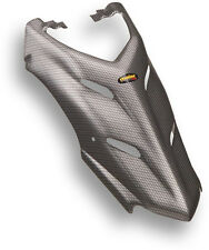 NEW YAMAHA YFS 200 BLASTER 88-06 BLACK CARBON FIBER PLASTIC GAS TANK COVER