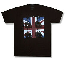 """PAUL MCCARTNEY """"FLAG TOUR 2012"""" BLK T-SHIRT NEW OFFICIAL ADULT BEATLES 2XL XXL"""