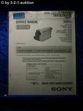Sony Service Manual DCR TRV12E TRV14E TRV19 TRV19E Level 3 Digital Video(#5721)