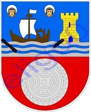 1x STICKER Escudo Cantabria SPAIN COAT OF ARMS decal