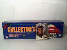 Ken Griffey Jr. rookie card 1989 Upper Deck baseball card complete set