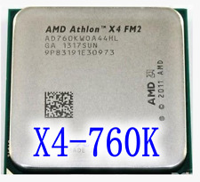 AMD Athlon X4 760K CPU Processor AD760KWOA44HL 3.8 GHz Socket FM2