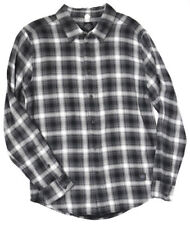 Harley-Davidson Men's NWT Slim Fit Plaid Flannel Button-Up Shirt 96432-16VM  XL