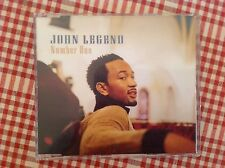 John Legend Number one three track promo CD single