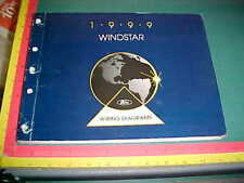 1999 FORD WINDSTAR WIRING DIAGRAMS MANUAL very good