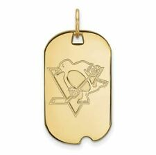 SS w/GP NHL Pittsburgh Penguins Small Dog Tag