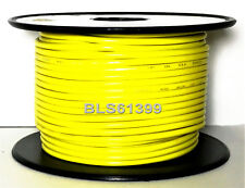 YELLOW 12V Auto Primary Wire 18 Gauge 100' ft Car Boat ATV Power Hook Up Cable