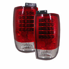 FORD EXPEDITION LED TAIL LIGHT EURO REAR LAMP ALTEZZA RED LENS 97 98 99 00 01 02