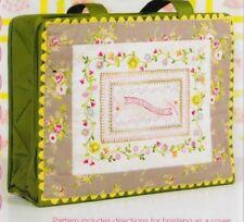 PATTERN -  Handmade Sampler - beautiful stitchery PATTERN - Crabapple Hill