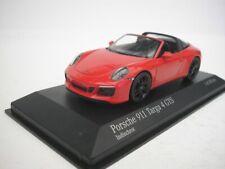 1 43 Minichamps Porsche 911 (991/2) 4 GTS Targa 2016 red