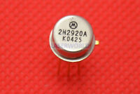 2N2920A PACKAGE:CAN-6,Dual Transistors