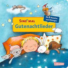 Sing Mal Gutenachtlieder Sound Ab 2 Jahren mit 6 Melodien zum Mitsingen + BONUS