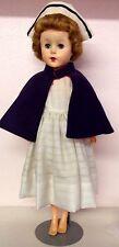 """Vintage 18"""" Doll Marked 20 Hi on neck & 2Jbal Hh on back Vinyl Nurse Costume"""