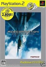 Used PS2 Namco Ace Combat 04: Shattered Skies SONY PLAYSTATION JAPAN IMPORT