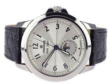 Junghans Ambassador 027/4530 Stahl Automatic Herren Armbanduhr 42 mm
