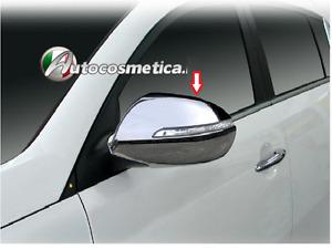 Cover calotte specchi specchietti in abs cromati cromo KIA SPORTAGE 2011-2015>