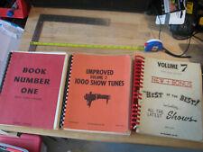 Vintage Sheet Music Compilation West Coast Edition Vol. 1, 2 + 7 (partial)
