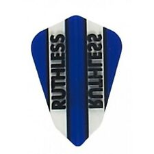 BLUE RUTHLESS FANTAIL SHAPE CLEAR PANEL FLIGHTS