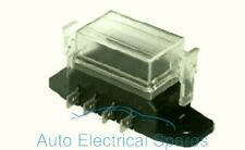 CLASSIC / KIT CAR fuse box 4 way lucar terminals / standard blade type fuse