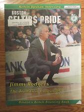 JIMMY RODGERS Boston CELTICS PRIDE Vol 4 No 10 April 17, 1989 Newspaper